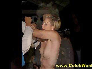 Miley Cyrus cu un penis